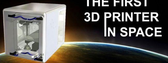 La NASA porta una stampante 3D sulla ISS