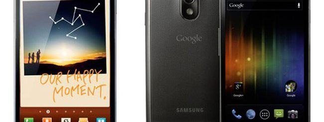 Samsung Galaxy Note vs. Samsung Galaxy Nexus