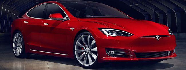 Tesla Model S P100D, l'auto di serie più veloce
