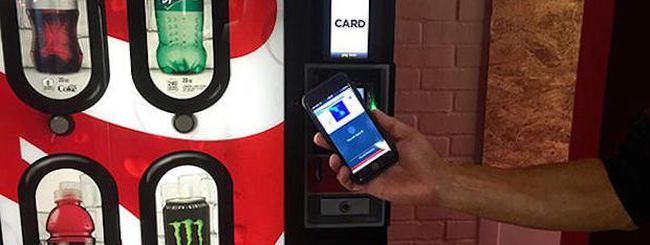 Apple Pay conquista anche i distributori automatici