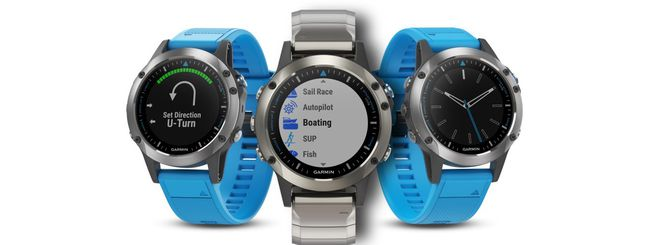 Garmin quatix 5, smartwatch per canoisti e velisti