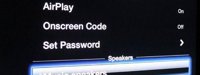 iOS 6 Beta 3, Apple TV: speaker esterni via AirPlay