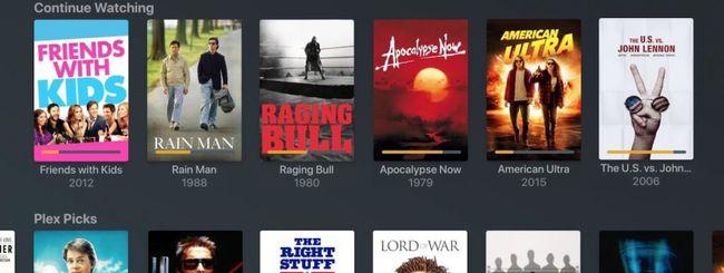 Plex: 80 nuovi canali in streaming gratis