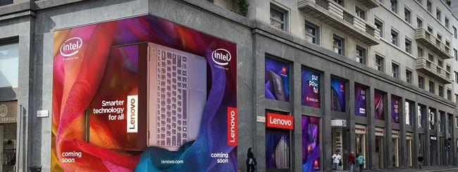 Lenovo Flagship Store a Milano, primo in Europa