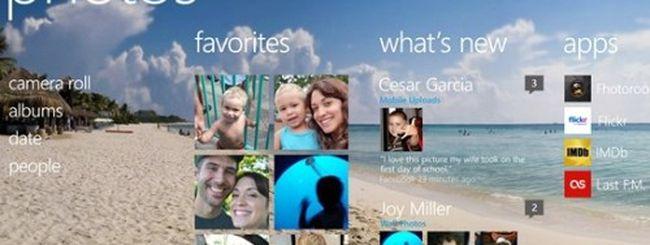 Windows Phone 8, nuove opzioni per Photo Hub