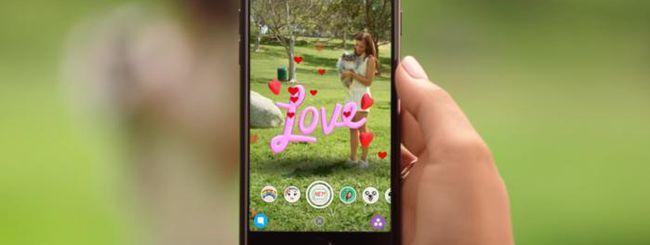 Snapchat per iPhone introduce gli Effetti 3D, ecco come usarli subito