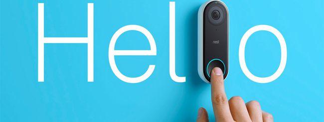 Nest Hello, il campanello con videocamera